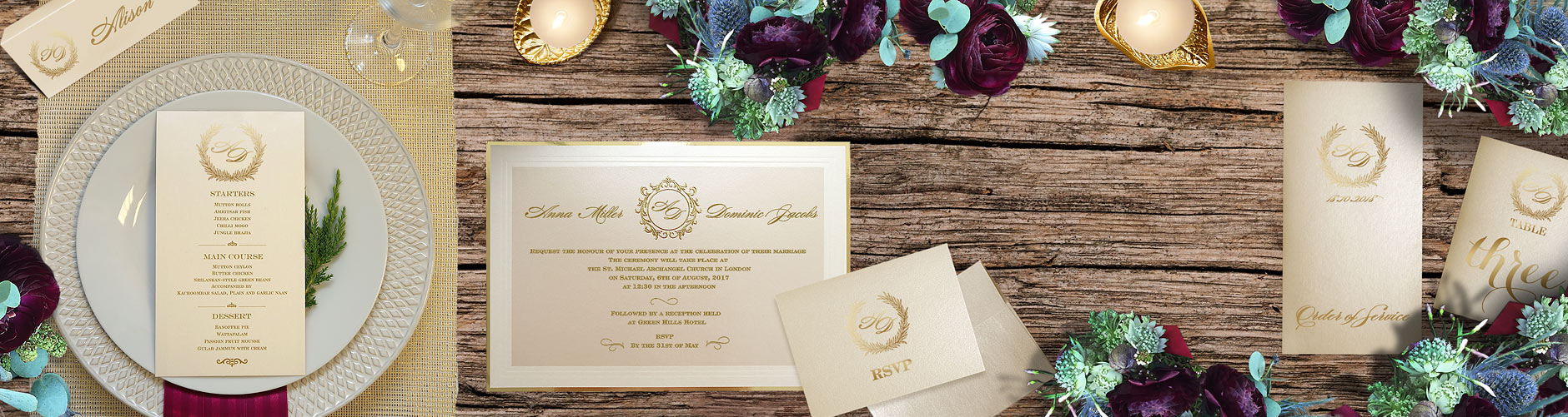 Luxury Wedding Invitations Uk Stationery Online Polina Perri
